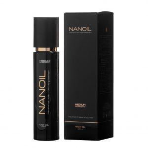 Nanoil hair oil - kraft der natürlichen Öle